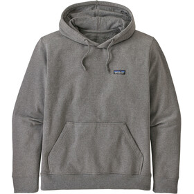 Patagonia P-6 Label Uprisal Sudadera Capucha Hombre, gravel heather